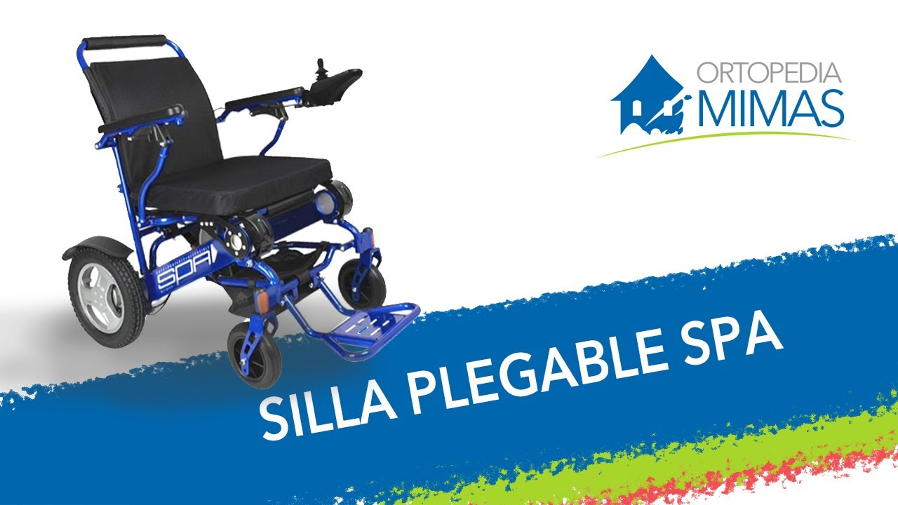 silla de ruedas electrica plegable spa