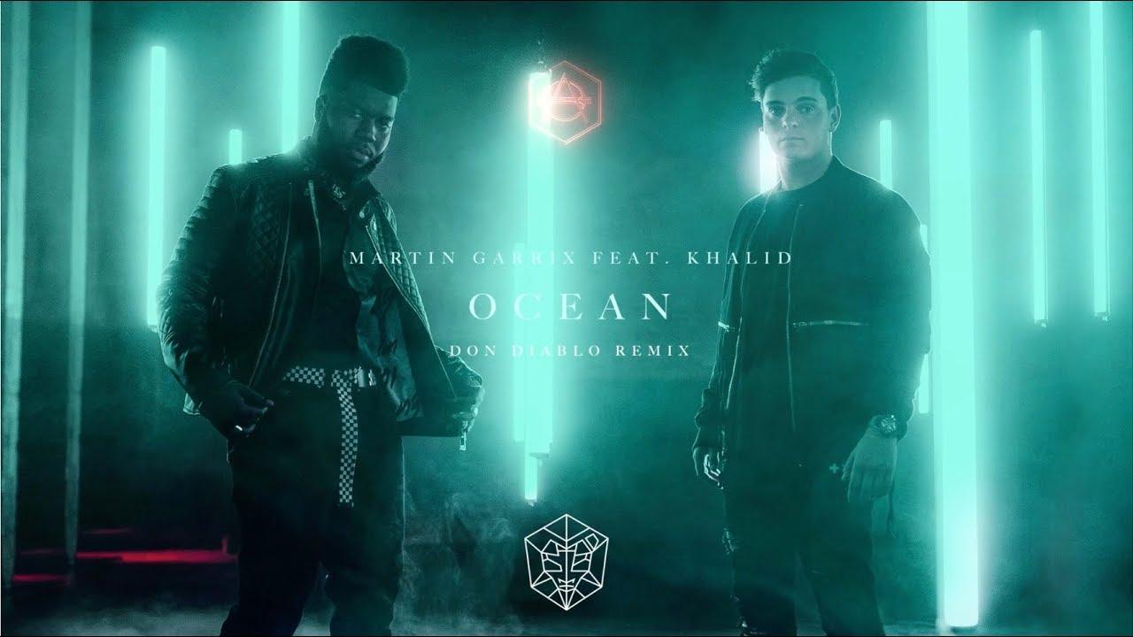 Martin Garrix ft. Khalid - Ocean (Don Diablo Remix) [Official Lyric Video]