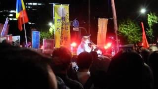 元自衛官 泥憲和さんのスピーチ 2015年9月14日 国会正門前