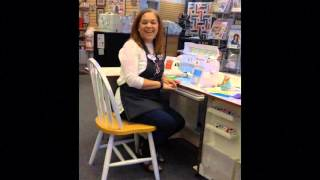 Sewing Chairs with Jill at A Scarlet Thread