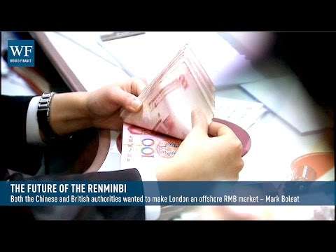 Renminbi growth: 'it's been a pretty dramatic change over the last few years' | Video