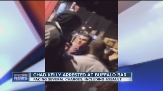 Cell phone video shows Chad Kelly involved in a fight
