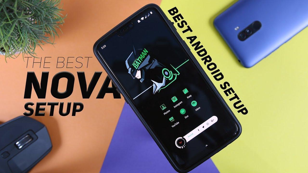 Best Android Setups 2018 - Best Nova Launcher Setup (September) EP2