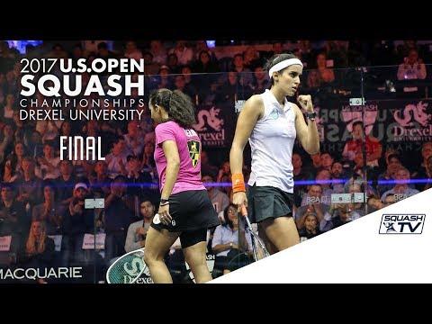 Squash: Women's Final Roundup - U.S. Open 2017