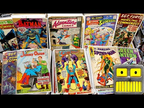 I Found Silver Age Comic Books In The Garbage