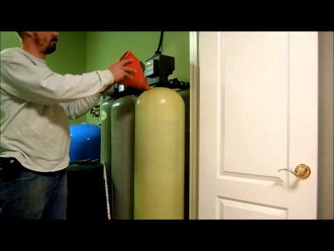 Servicing A Water-Right Neutralizer