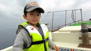 沖縄で舟釣り