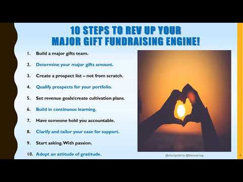 How to Build and Sustain Your Major Gifts Pipeline