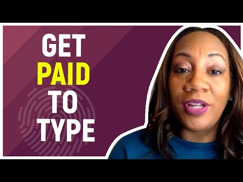 Get Paid To Type Letters On Your Phone (Proof) - YouTube