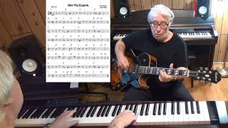 May You Always - Jazz guitar & piano cover ( Dick Charles & Larry Markes )