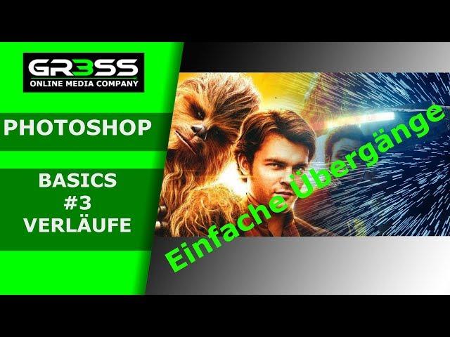 Photoshop Basics #3 Tutorial EINFACHE Verläufe