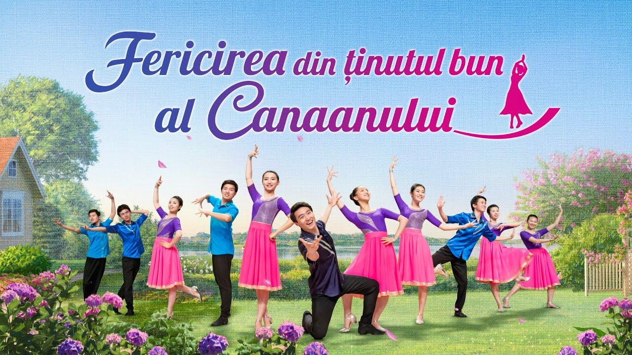"""Muzică creștină """"Fericirea din ținutul bun al Canaanului"""" Dans de laudă"""