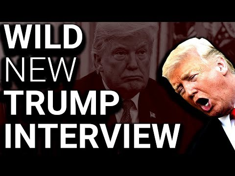 Newest Unhinged Trump Interview is a True House of Horrors