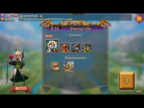 Lords Mobile Challenge 3-11