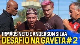 NA GAVETA #2 - IRMÃOS NETO e ANDERSON SILVA - Desafio de Falta | Canal Zico 10 thumbnail