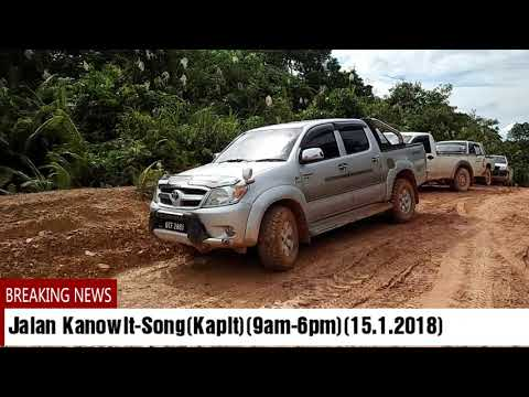 Jalan Alternatif Kanowit-Song(Kapit)(Jan 2018)