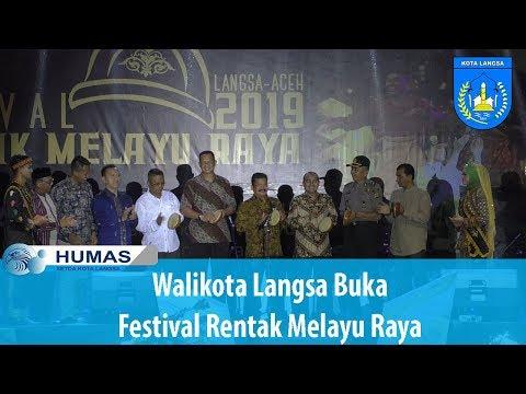 Walikota Langsa Buka Festival Rentak Melayu Raya