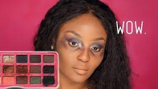 WORST EYESHADOW PALETTE EVER Shop Hush makeup fail