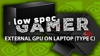 Budget GPU on a laptop over Thunderbolt 3 (AkiTio Node, Omen Accelerator, GT 1030 on Dell XPS 13)