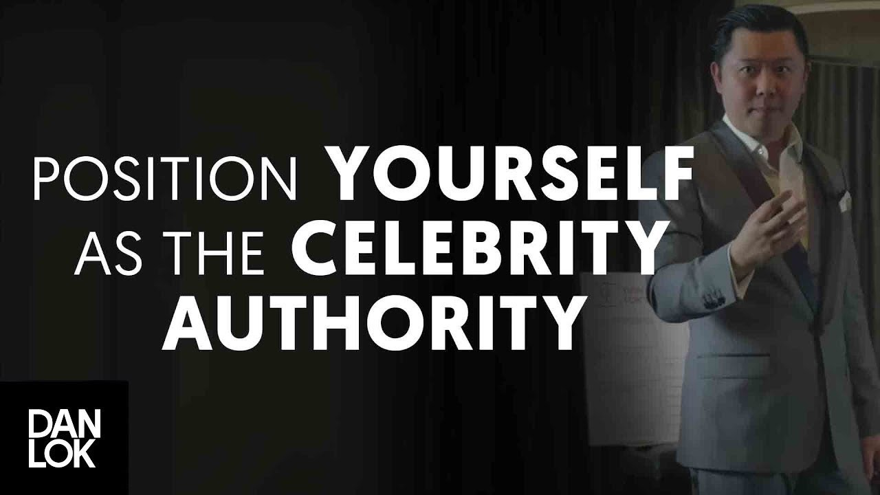 Position Yourself As The Celebrity Authority In Your Market Niche - The Art  of Positioning - YouTube