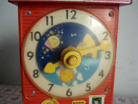 Fisher-Price Teaching Clock