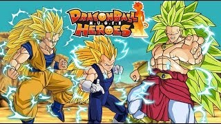 Goku & Vegeta vs SSJ3 Broly - Dragon Ball Super Fight M.U.G.E.N