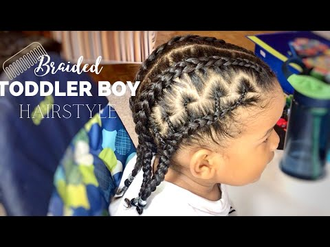 toddler-boy-hairstyle-15-||-easy-braided-toddler-boy-hairstyle-||-beaded-style-||-#protectivestyle