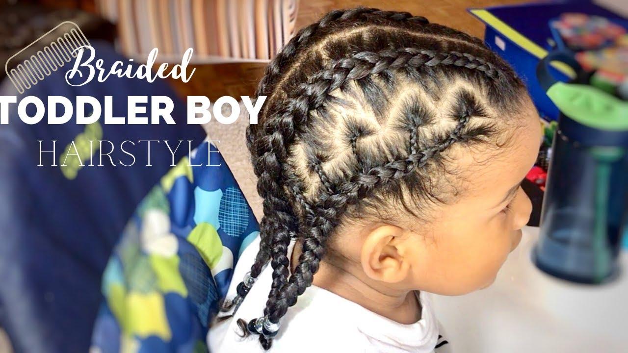 Toddler Boy Hairstyles 12 Pop Smoke Braids Curly Kids Hair Cantu Kids Shea Moisture Youtube