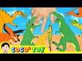 우리집 공룡들이 자라고 있다 7, 공룡이름 맞추기, 어린이 공룡만화ㅣ꼬꼬스토이