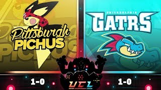 WOW! - UCL S3 W2 Pittsburgh Pichus VS Philadelphia Feraligatrs - Pokemon Ultra Sumo LIVE WiFi Battle