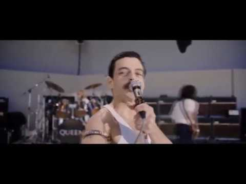 Bohemian Rhapsody - Live Aid We Will Rock You (DVD Extra) Scene (Rami Malek, Freddie Mercury)