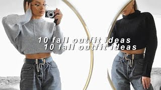 10 OUTFIT IDEAS FOR FALL / AUTUMN 2019 | CASUAL & DRESSY CLOTHING AD