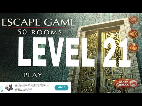 Escape Game 50 Rooms 1 Level 21 Walkthrough Youtube