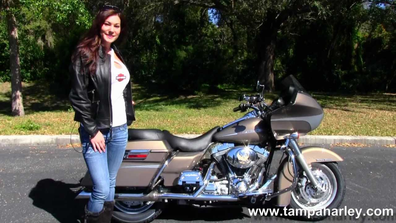 small resolution of used 2004 harley davidson fltr road glide in smokie gold for sale