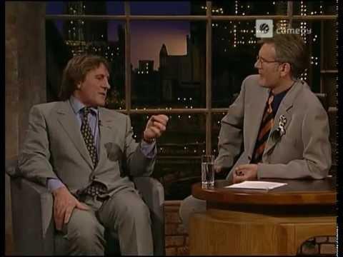 Gerard Depardieu bei Harald Schmidt Show - 1996-04-16 - Part I