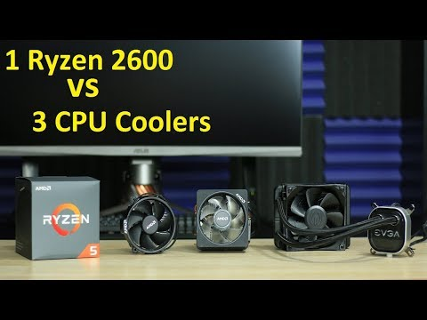 Ryzen 2600 VS 3 CPU Coolers