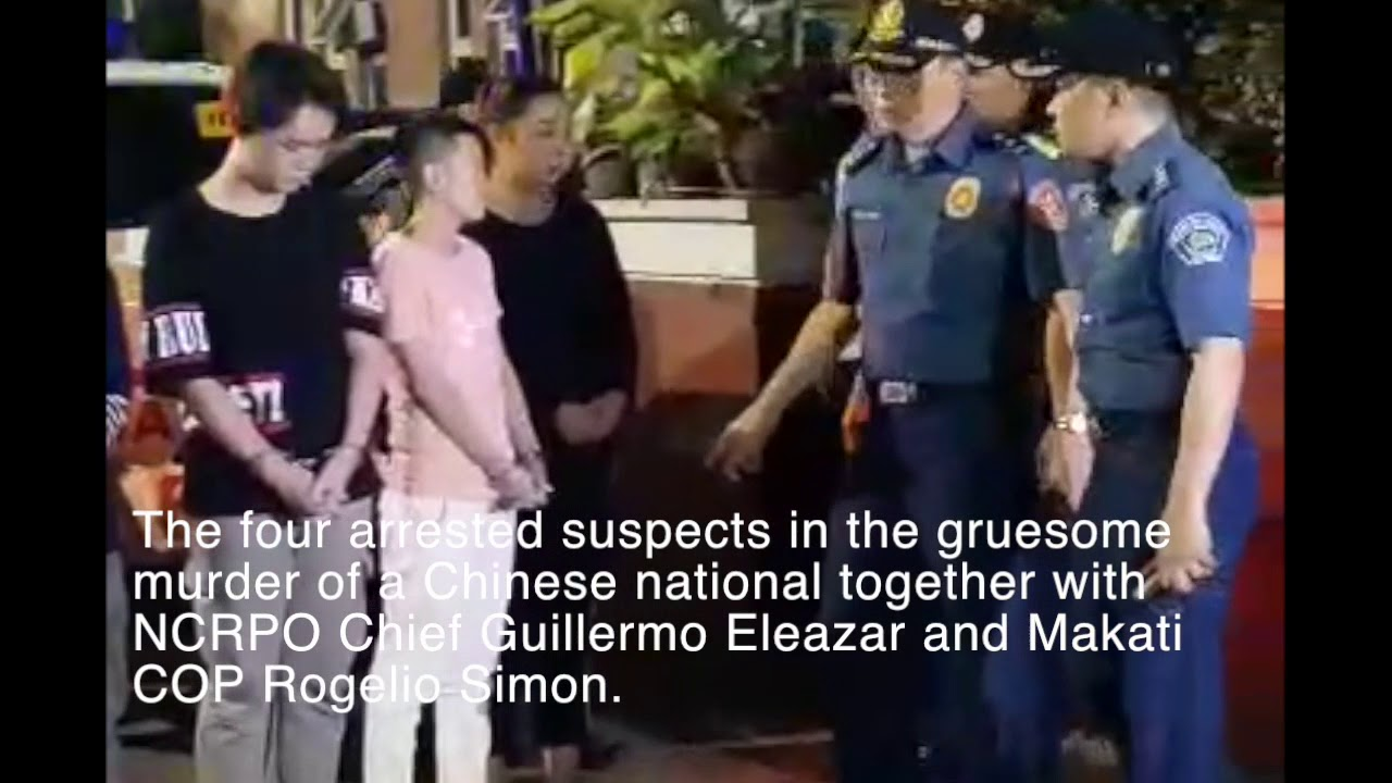 Four suspects were arrested in gruesome murder of Chinese national