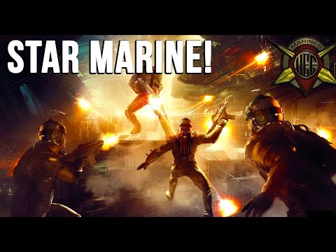 Star Citizen: STAR MARINE! - FPS Gameplay! - [Alpha 2.6]