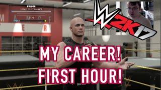 Het Eerste Uur van de WWE 2K17 is Mijn Carrière - 1080P 60FPS