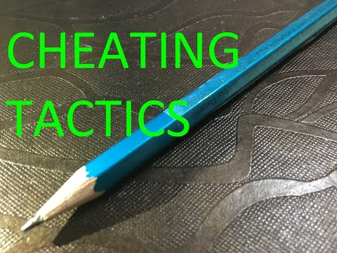 How To Cheat On Any Test