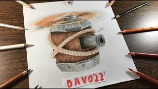 COMO DIBUJO LA MÁQUINA VOLADORA DE CLASH ROYALE / HOW TO DRAW FLYING MACHINE ( DAVO22)