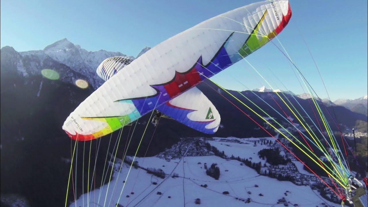 Paragliding acro wallpaper