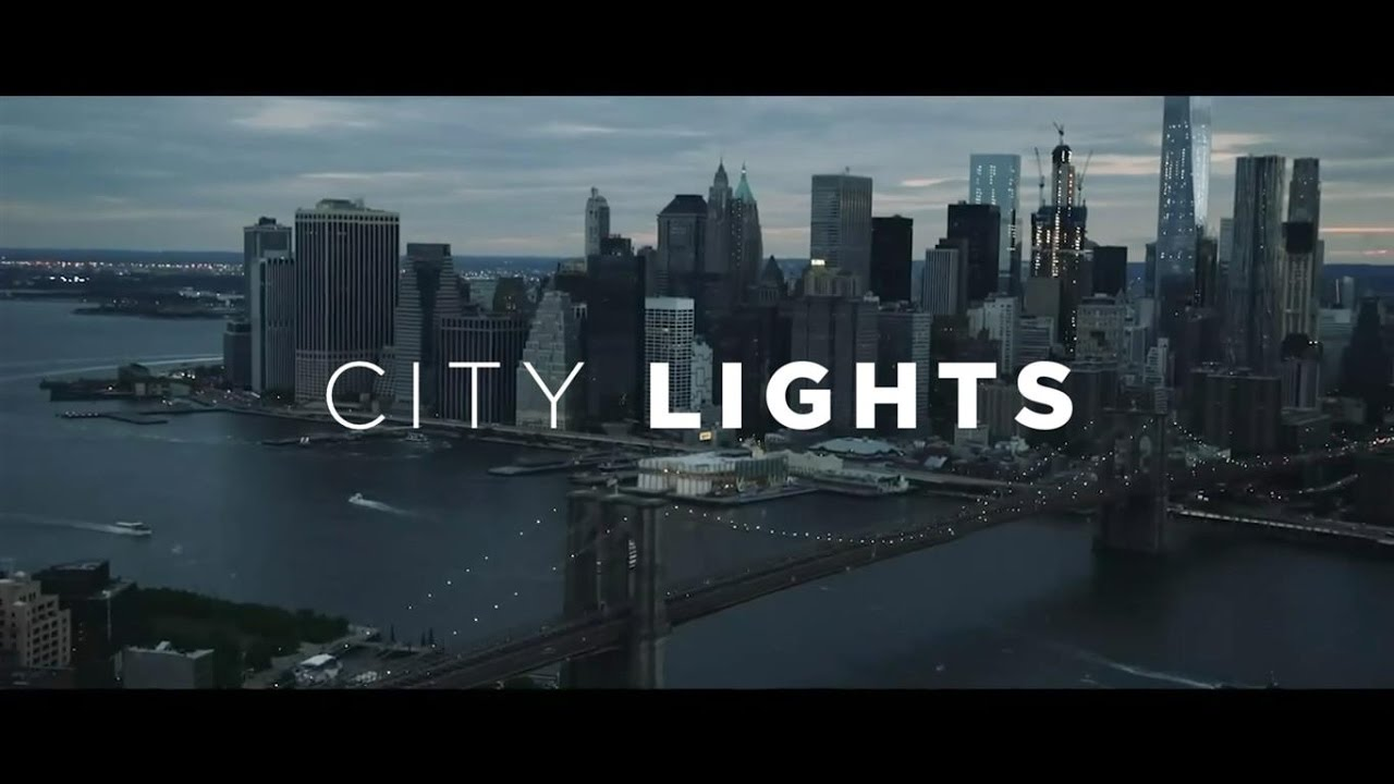 Chords City Lights Blanche