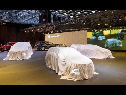 Renault press conference - Geneva Motor Show 2018