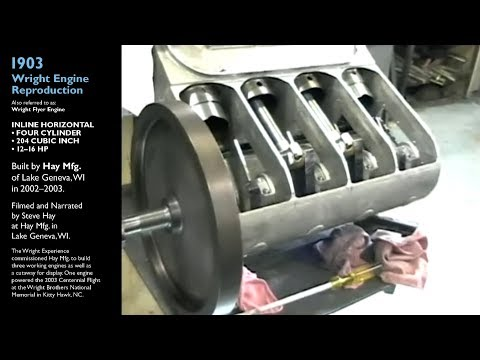 Building a Running 1903 Wright Flyer Engine