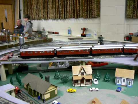 Pearl River Train Show O Gauge Layout
