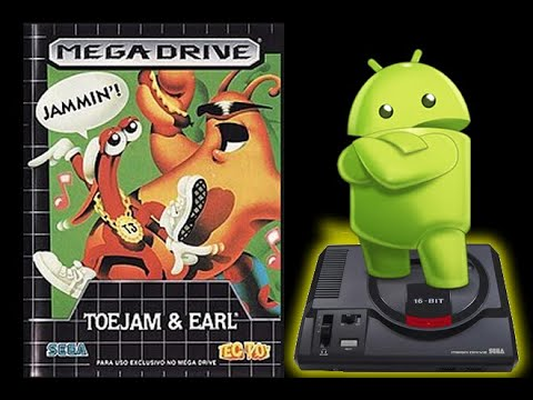 Toe Jam & Earl Gameplay - Megadrive Emulator For Android