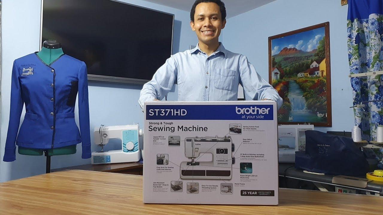 ¡Que fuerte máquina! Unboxing máquina de coser Brother ST371HD