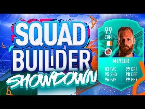 FIFA 19 SQUAD BUILDER SHOWDOWN!!! DAVID MEYLER'S PRO PLAYER CARD!!!