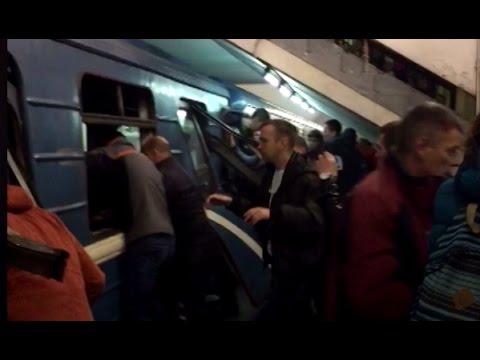 Blast rocks St. Petersburg Metro, leaving at least 9 dead, dozens injured